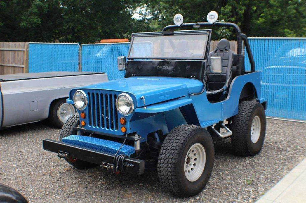 1948 WILLYS OVERLAND CJ-2A
