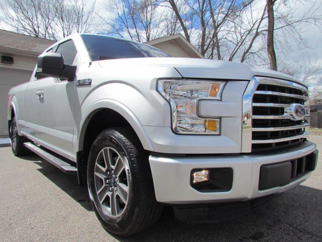 2015-FORD-F150 SPORT-SUPER CAB-FOR-SALE-Akron-Ohio for sale at Akron Motorcars