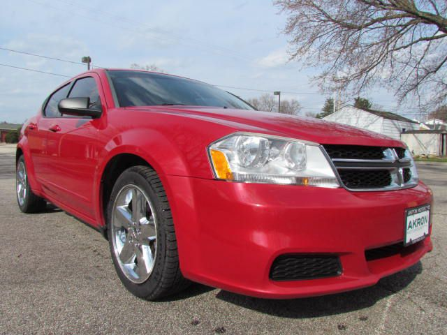 2012 DODGE AVENGER for sale at Akron Motorcars