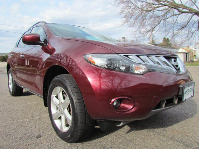 2009 NISSAN MURANO for sale at Akron Motorcars