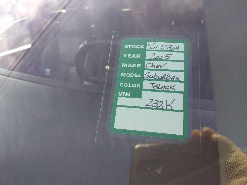 2005 CHEVROLET SUBURBAN 1500 in Amherst