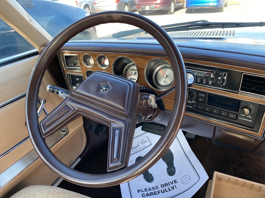 1984 PLYMOUTH GRAN FURY CARAVELLE in Amherst