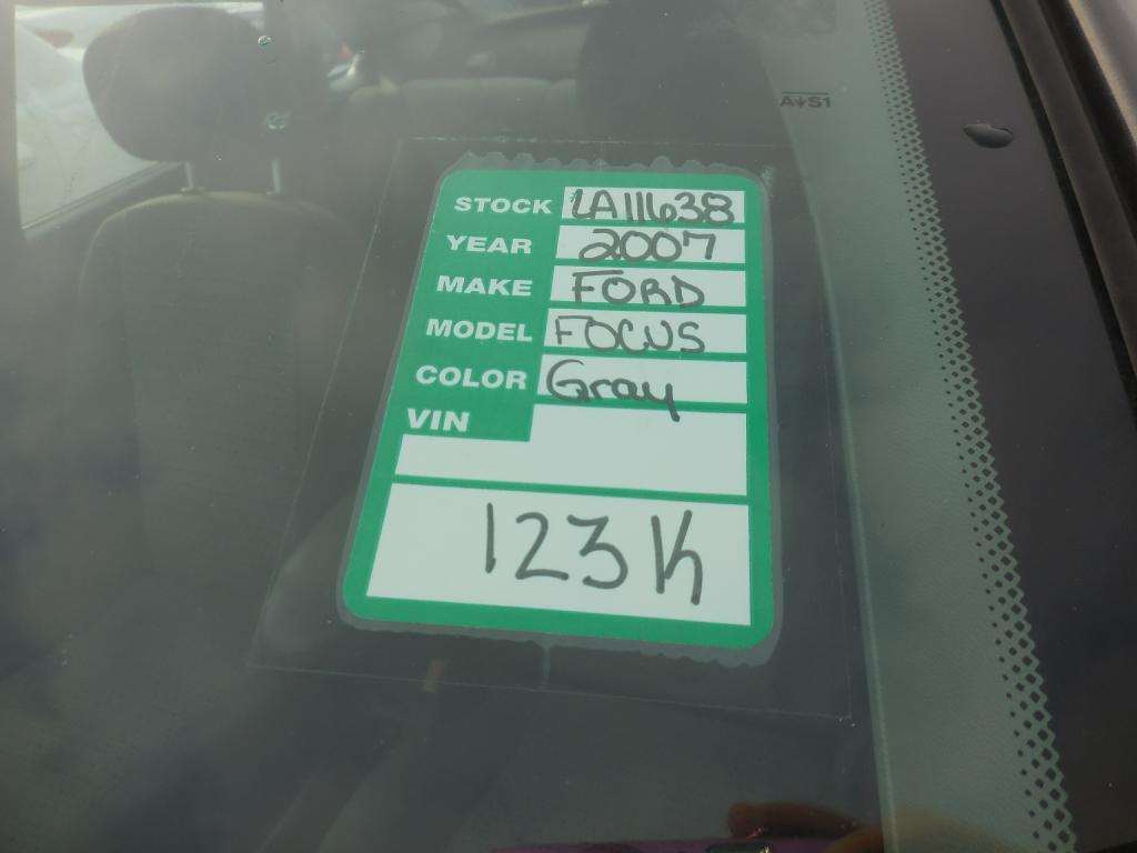 2007 FORD FOCUS ZX4 in Amherst