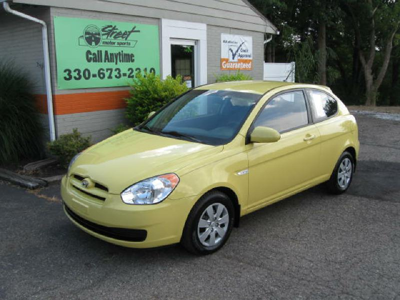 2008 HYUNDAI ACCENT GS For Sale In Kent, Ohio
