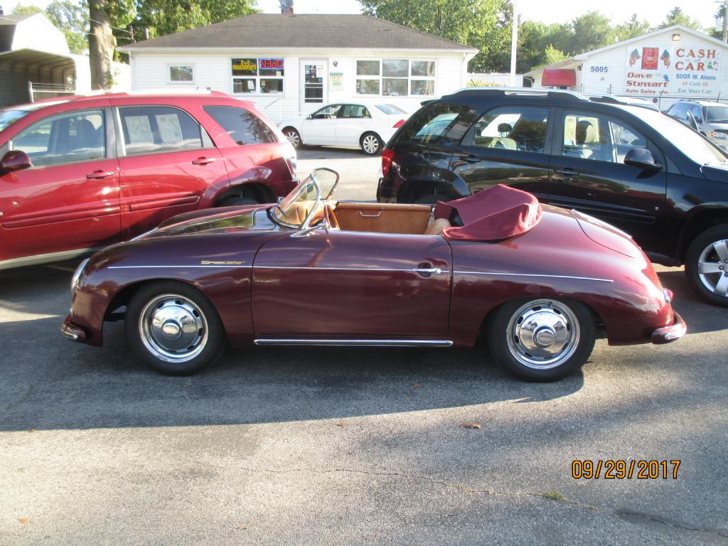 1957 PORSCHE SPEEDSTER 118744668 DAVE STEWART AUTO SALES LTD