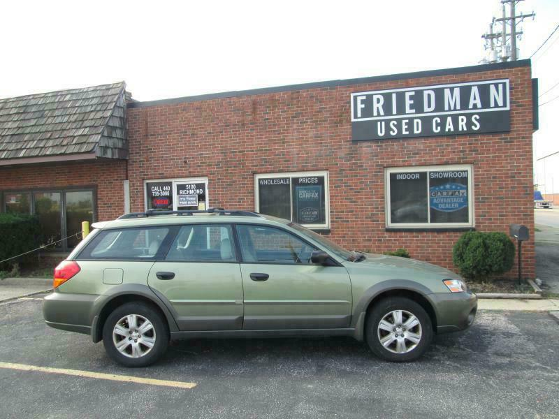 2005 SUBARU LEGACY OUTBACK 2.5I for sale at Friedman Used Cars