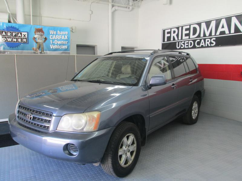 2003 TOYOTA HIGHLANDER LIMITED for sale at Friedman Used Cars