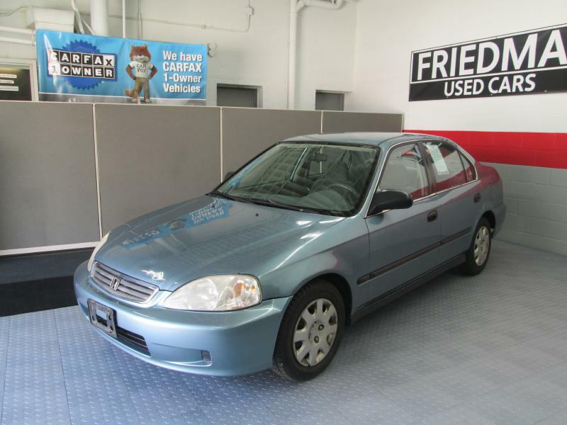 2000 HONDA CIVIC LX for sale at Friedman Used Cars