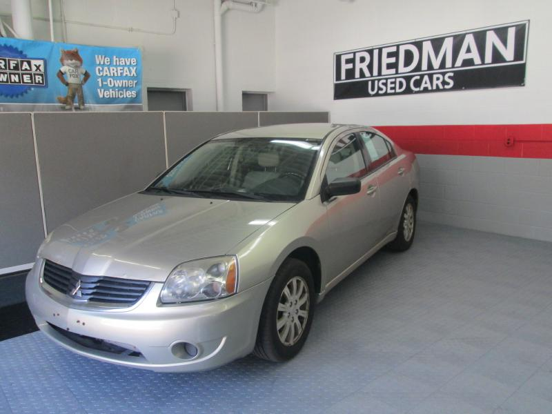 2008 MITSUBISHI GALANT ES for sale at Friedman Used Cars