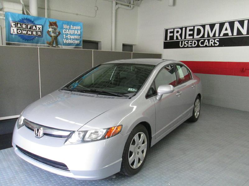 2008 HONDA CIVIC LX for sale at Friedman Used Cars
