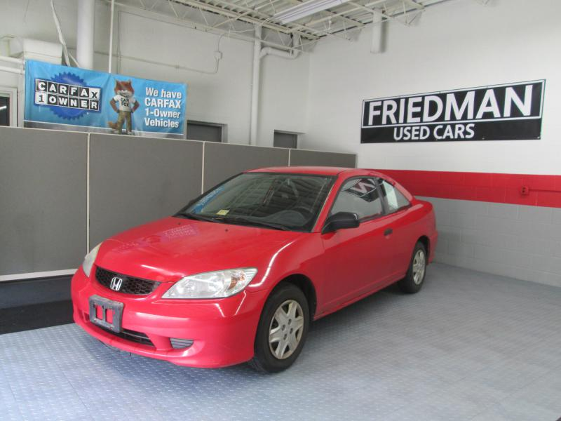 2005 HONDA CIVIC DX VP for sale at Friedman Used Cars