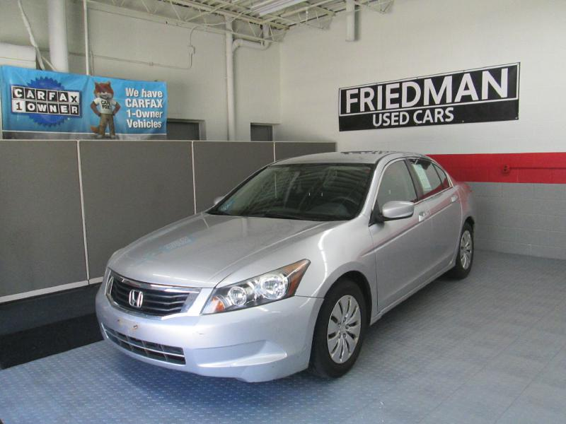 2009 HONDA ACCORD LX for sale at Friedman Used Cars | Bedford ...