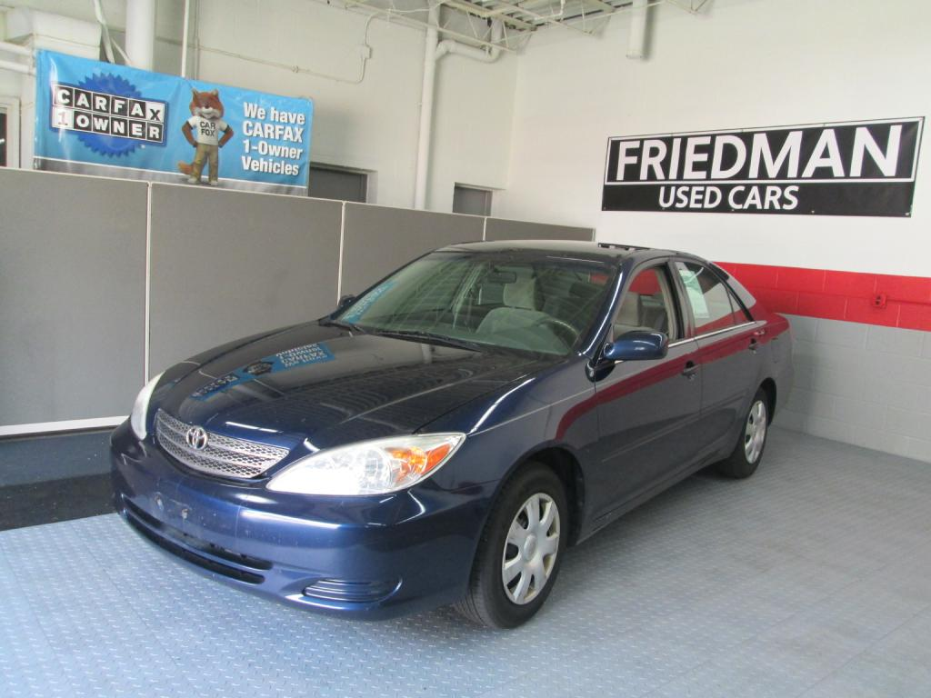 2002 TOYOTA CAMRY LE for sale at Friedman Used Cars