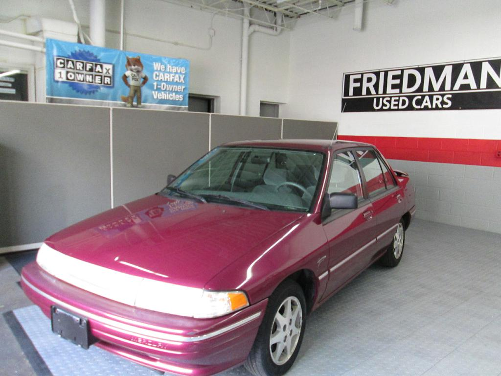 1995 MERCURY TRACER BASE for sale at Friedman Used Cars