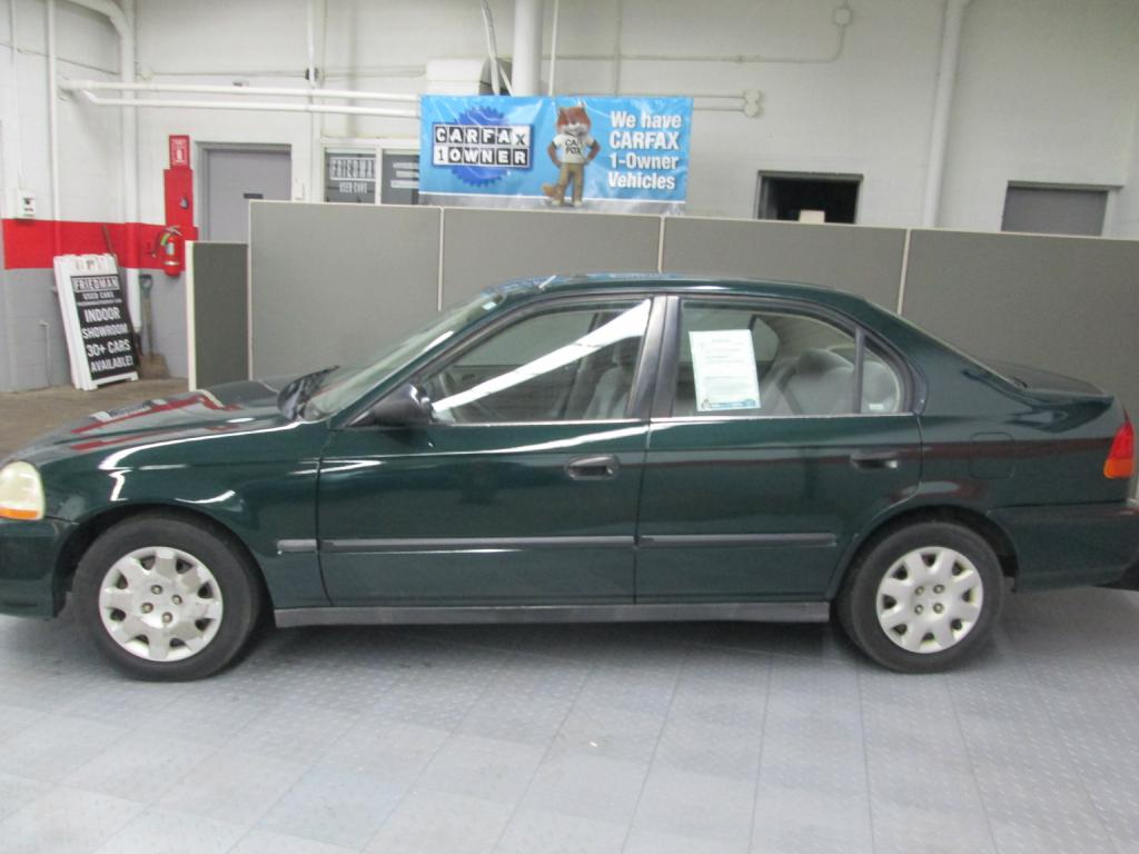 1998 HONDA CIVIC DX for sale at Friedman Used Cars | Bedford ...