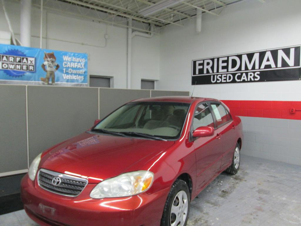 2005 TOYOTA COROLLA CE for sale at Friedman Used Cars