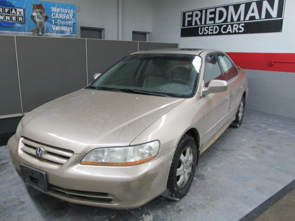 2002 HONDA ACCORD EX for sale at Friedman Used Cars