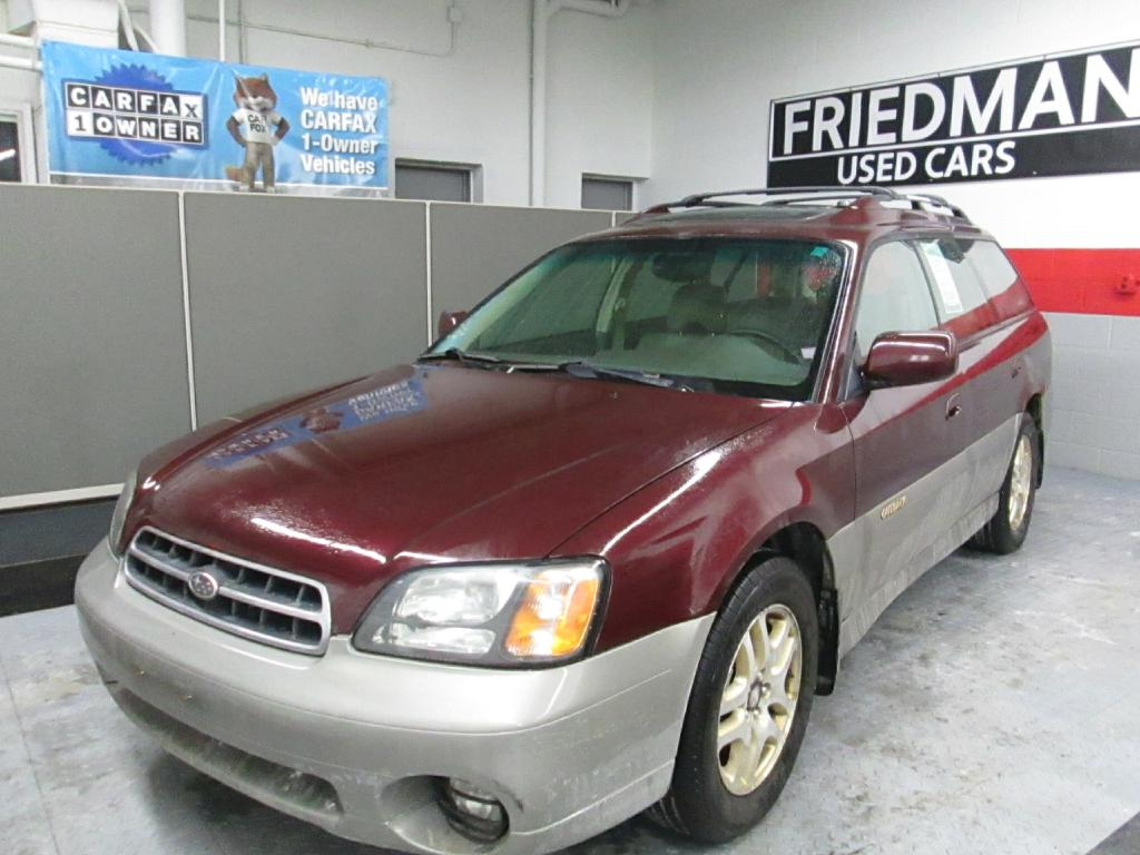 2001 SUBARU LEGACY OUTBACK LIMITED for sale at Friedman Used Cars