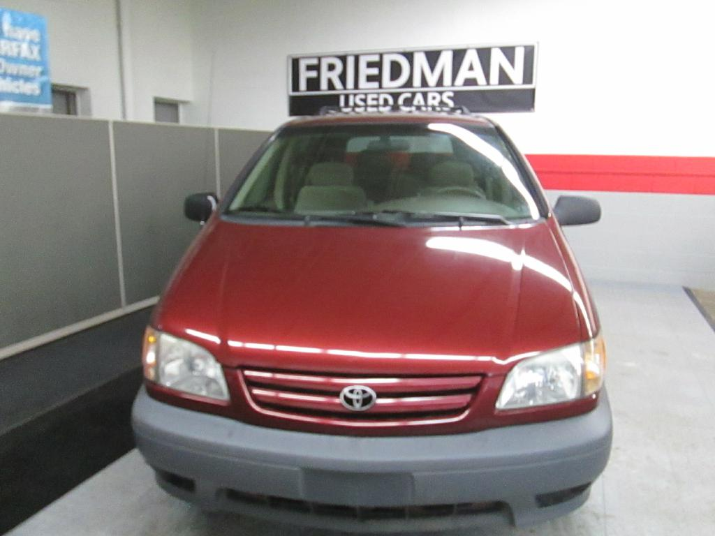 2002 TOYOTA SIENNA CE for sale at Friedman Used Cars