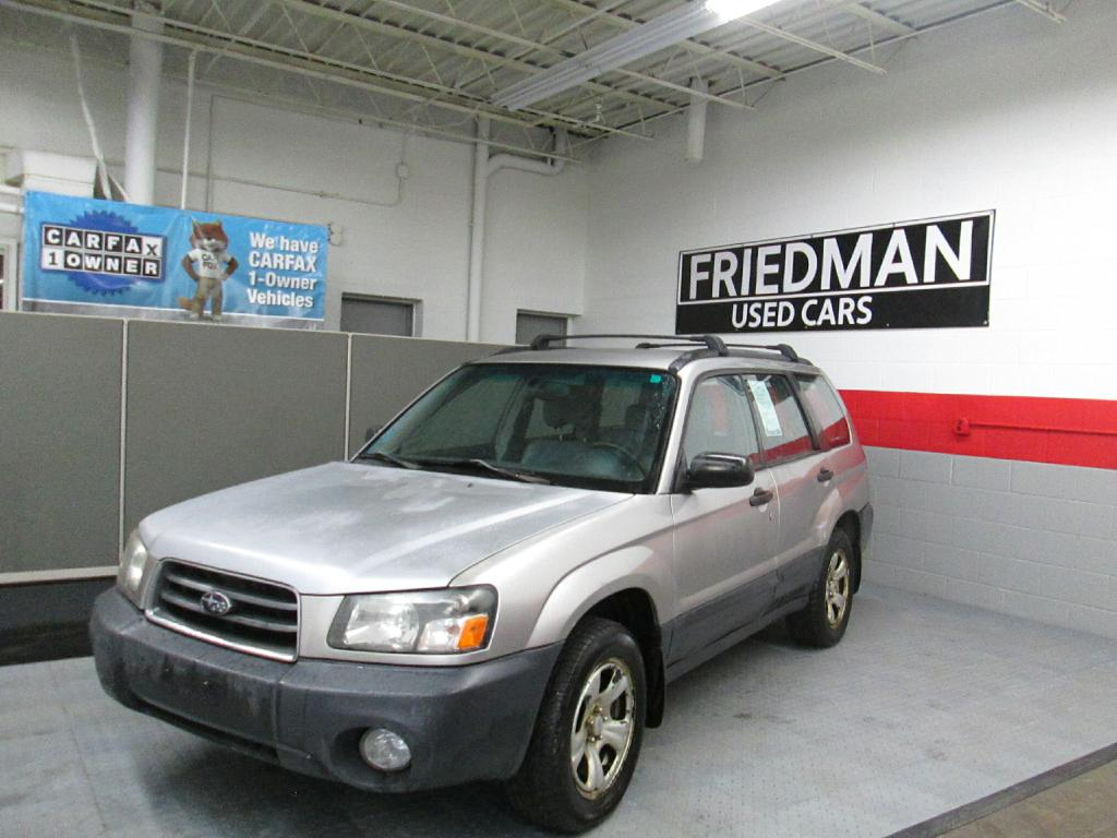 2005 SUBARU FORESTER 2.5X for sale at Friedman Used Cars