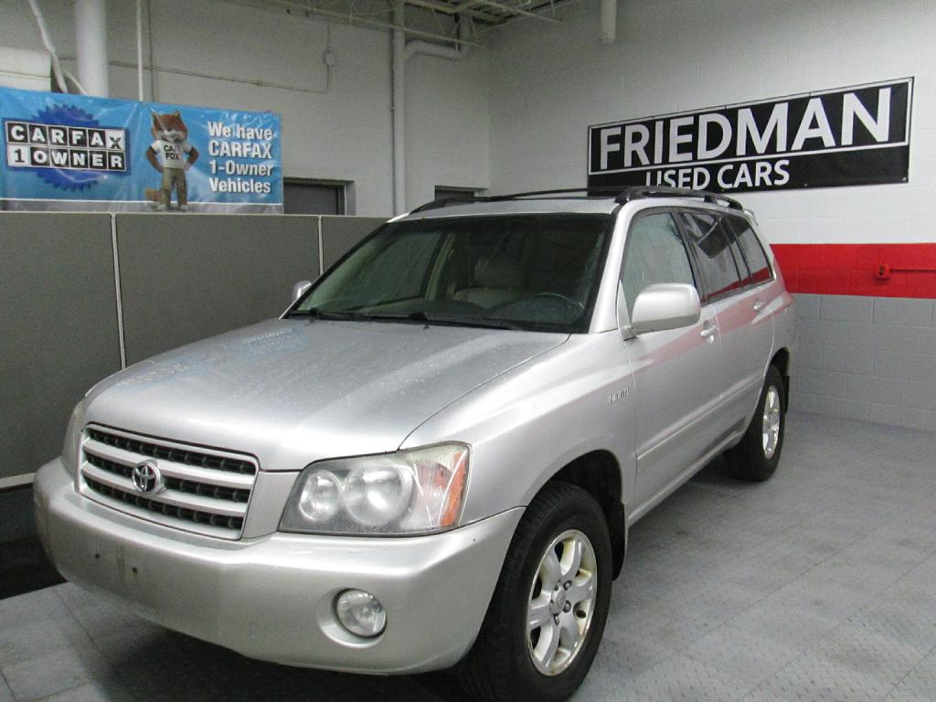 2002 TOYOTA HIGHLANDER LIMITED for sale at Friedman Used Cars