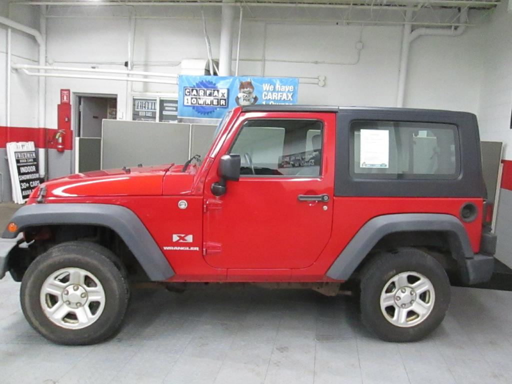 2009 JEEP WRANGLER X for sale at Friedman Used Cars