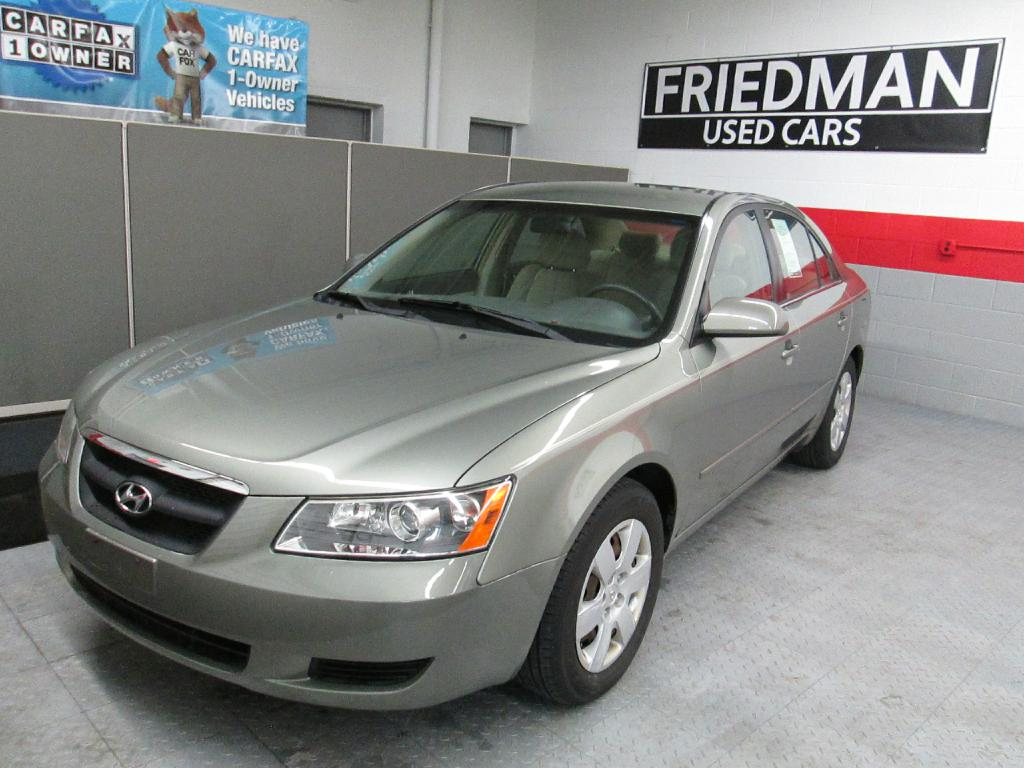 2007 HYUNDAI SONATA GLS for sale at Friedman Used Cars