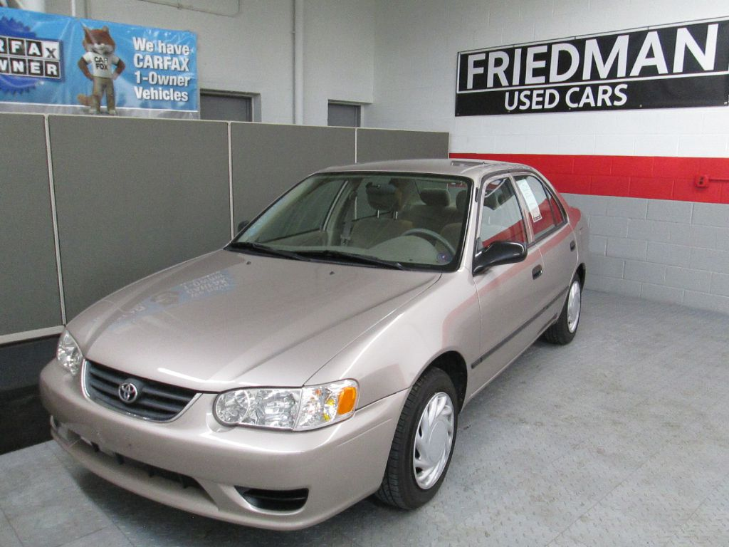 2001 TOYOTA COROLLA CE for sale at Friedman Used Cars