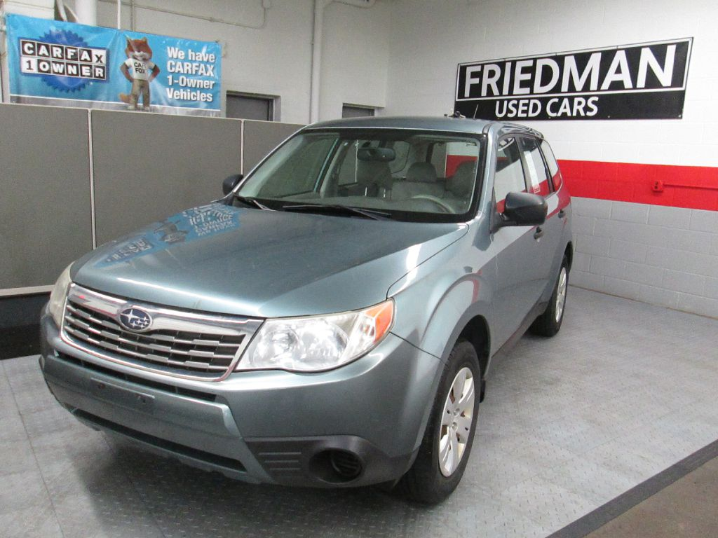 2009 SUBARU FORESTER 2.5X for sale at Friedman Used Cars
