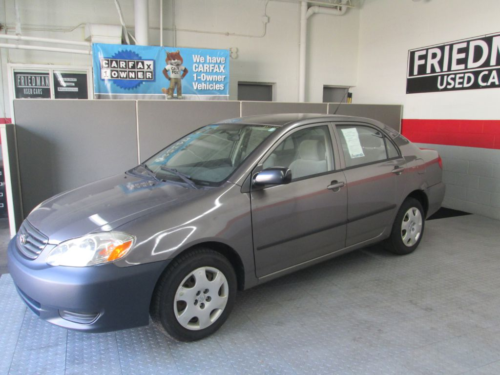 2003 TOYOTA COROLLA CE for sale at Friedman Used Cars