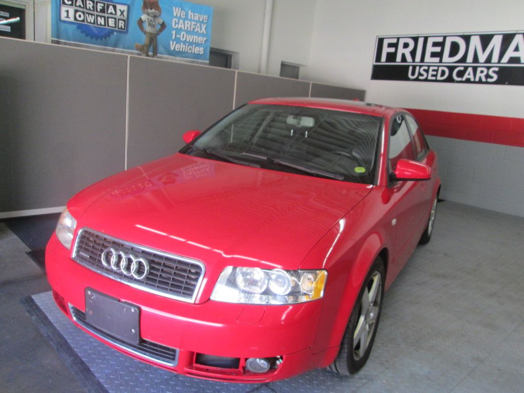 2004 AUDI A4 1.8T QUATTRO for sale at Friedman Used Cars