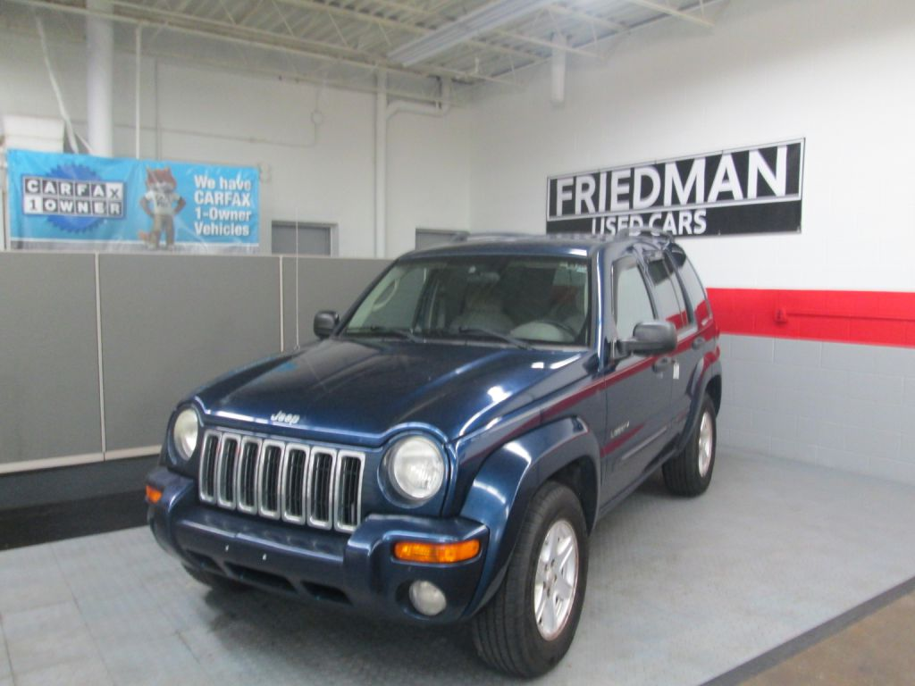 2004 JEEP LIBERTY LIMITED for sale at Friedman Used Cars