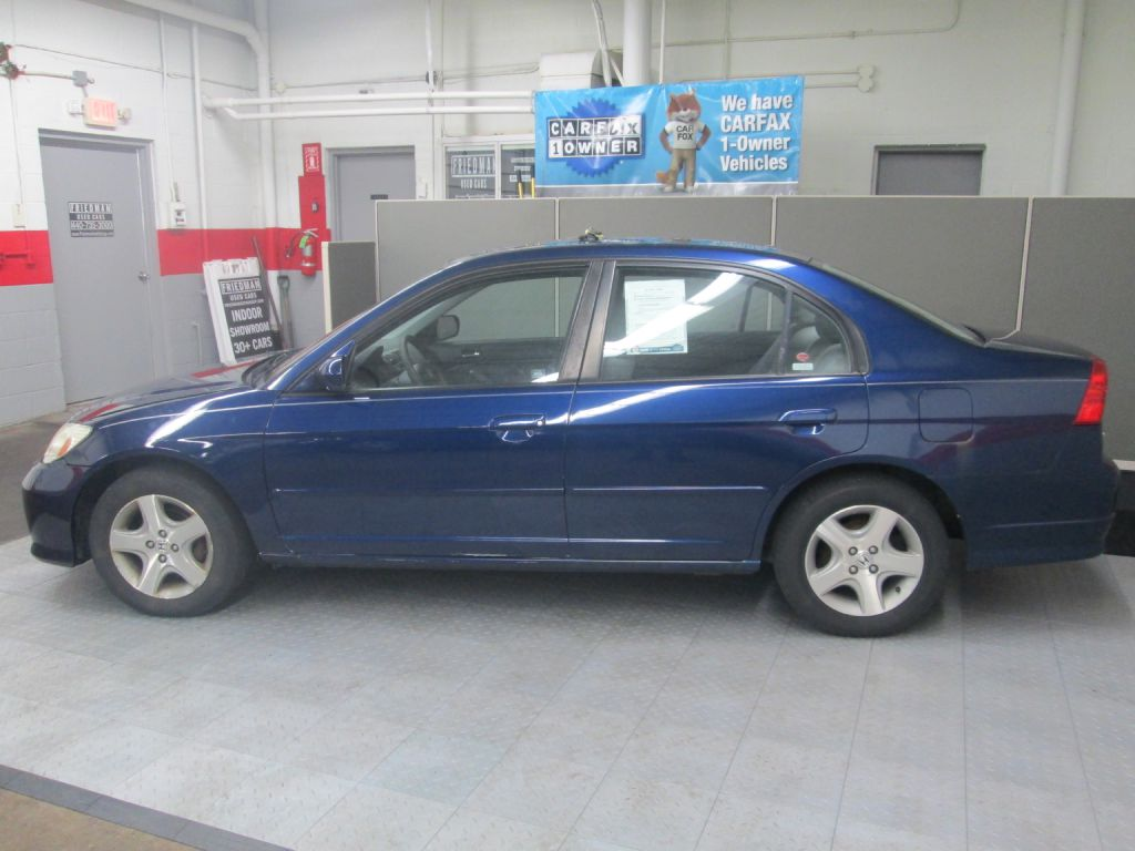 2004 HONDA CIVIC EX for sale at Friedman Used Cars
