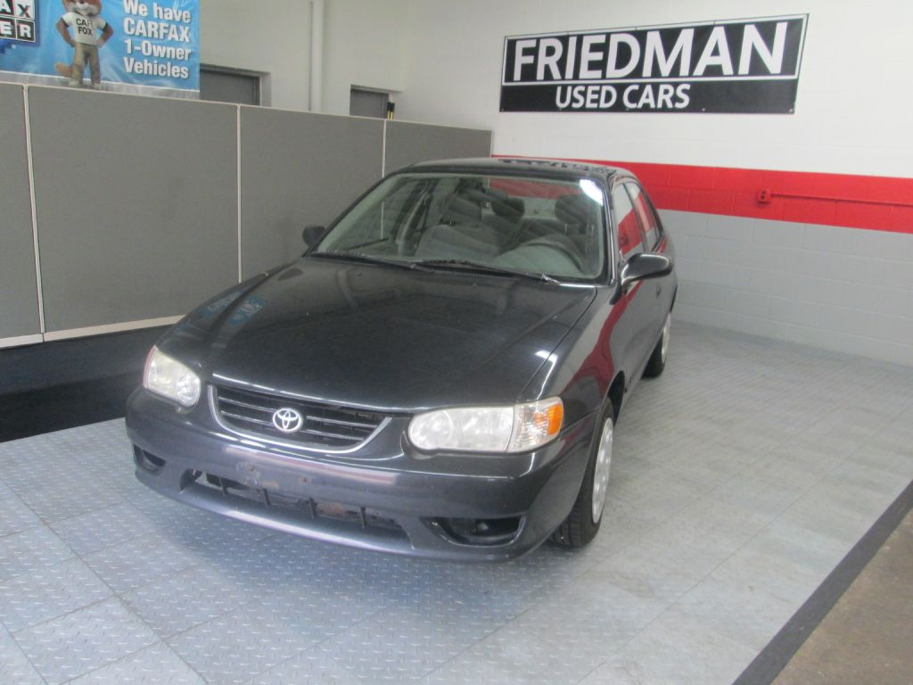 2002 TOYOTA COROLLA CE for sale at Friedman Used Cars