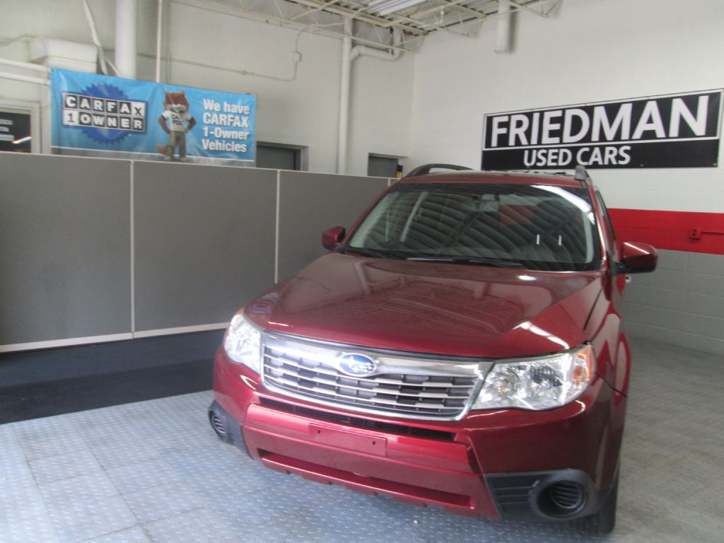 2009 SUBARU FORESTER 2.5X PREMIUM for sale at Friedman Used Cars