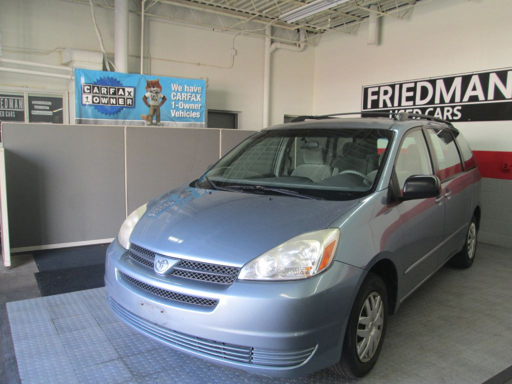 2005 TOYOTA SIENNA CE for sale at Friedman Used Cars