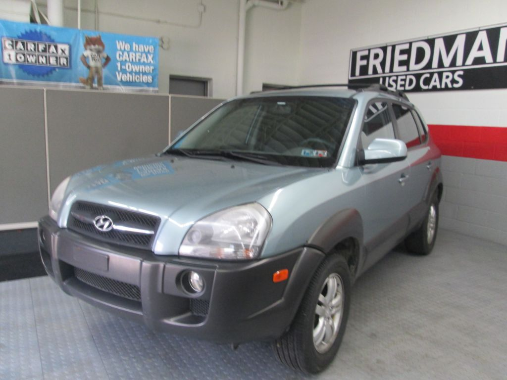 2007 HYUNDAI TUCSON SE for sale at Friedman Used Cars