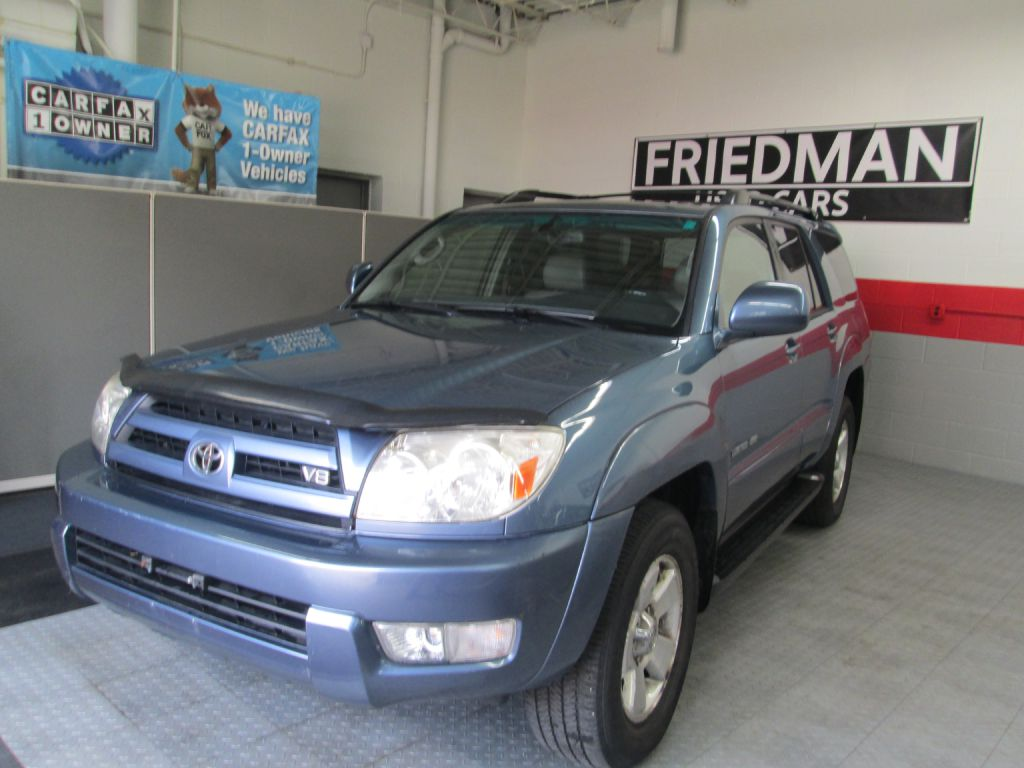 2005 TOYOTA 4RUNNER LIMITED for sale at Friedman Used Cars