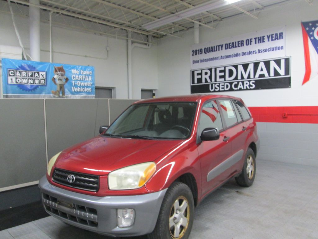 2003 TOYOTA RAV4  for sale at Friedman Used Cars