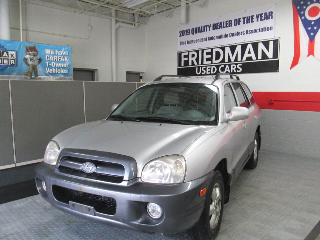 2005 HYUNDAI SANTA FE GLS for sale at Friedman Used Cars