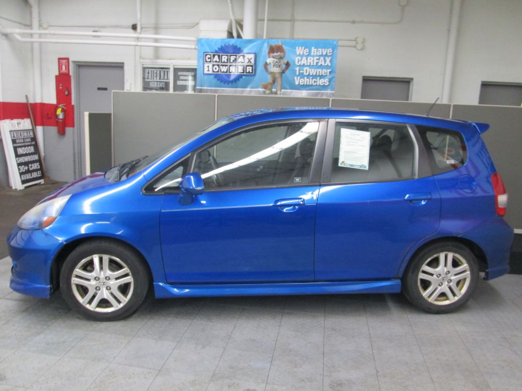 2007 HONDA FIT S for sale at Friedman Used Cars