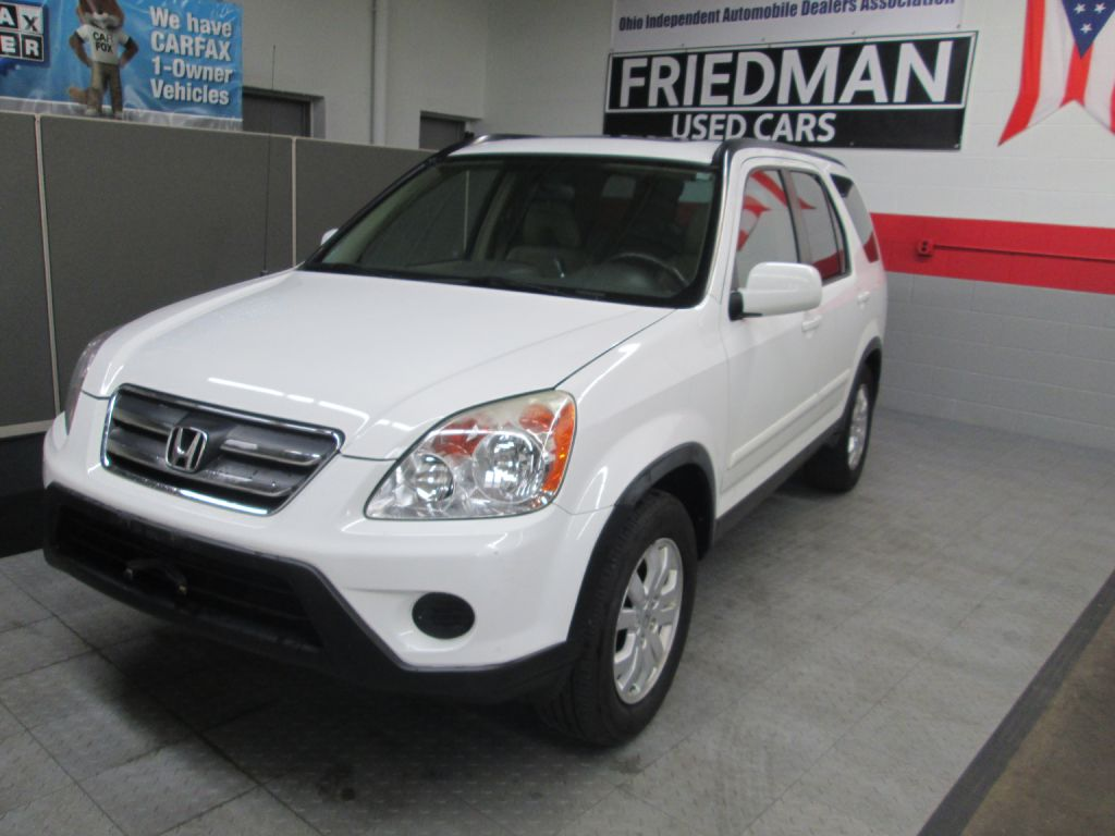 2006 HONDA CR-V SE for sale at Friedman Used Cars