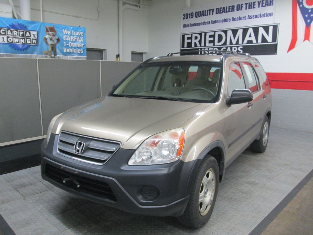 2006 HONDA CR-V LX for sale at Friedman Used Cars