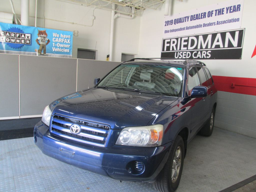 2005 TOYOTA HIGHLANDER LIMITED for sale at Friedman Used Cars