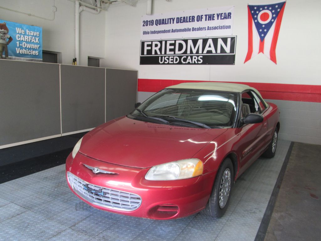 2001 CHRYSLER SEBRING LX for sale at Friedman Used Cars