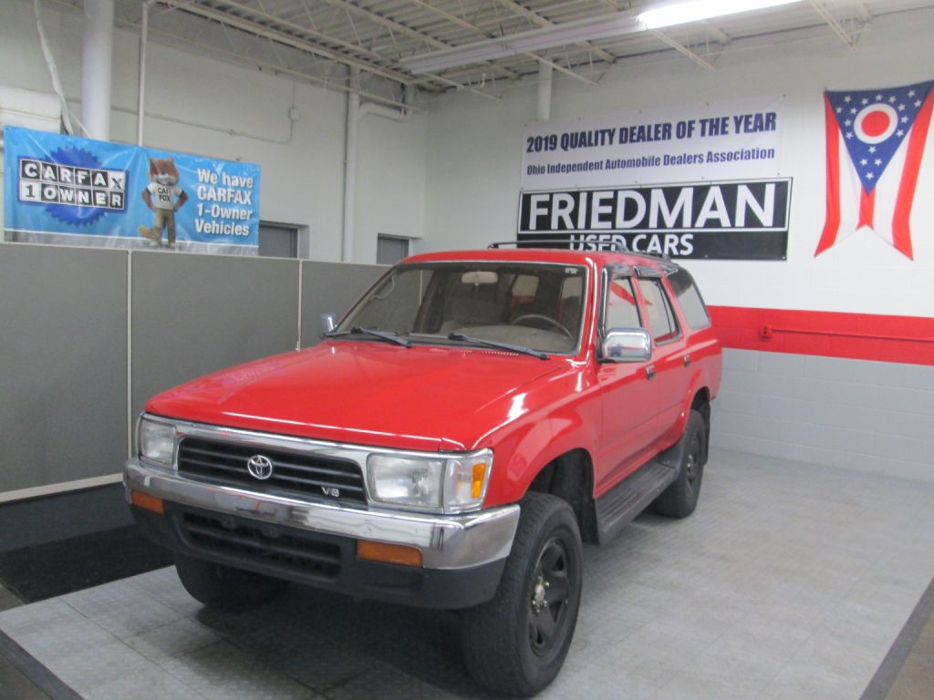 1995 TOYOTA 4RUNNER VN29 SR5 for sale at Friedman Used Cars