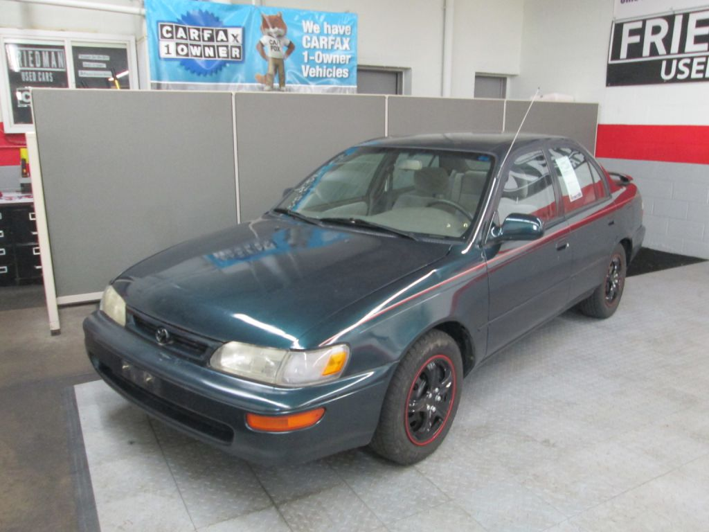 1997 TOYOTA COROLLA DX for sale at Friedman Used Cars