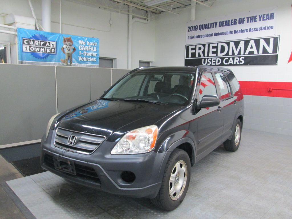 2005 HONDA CR-V LX for sale at Friedman Used Cars