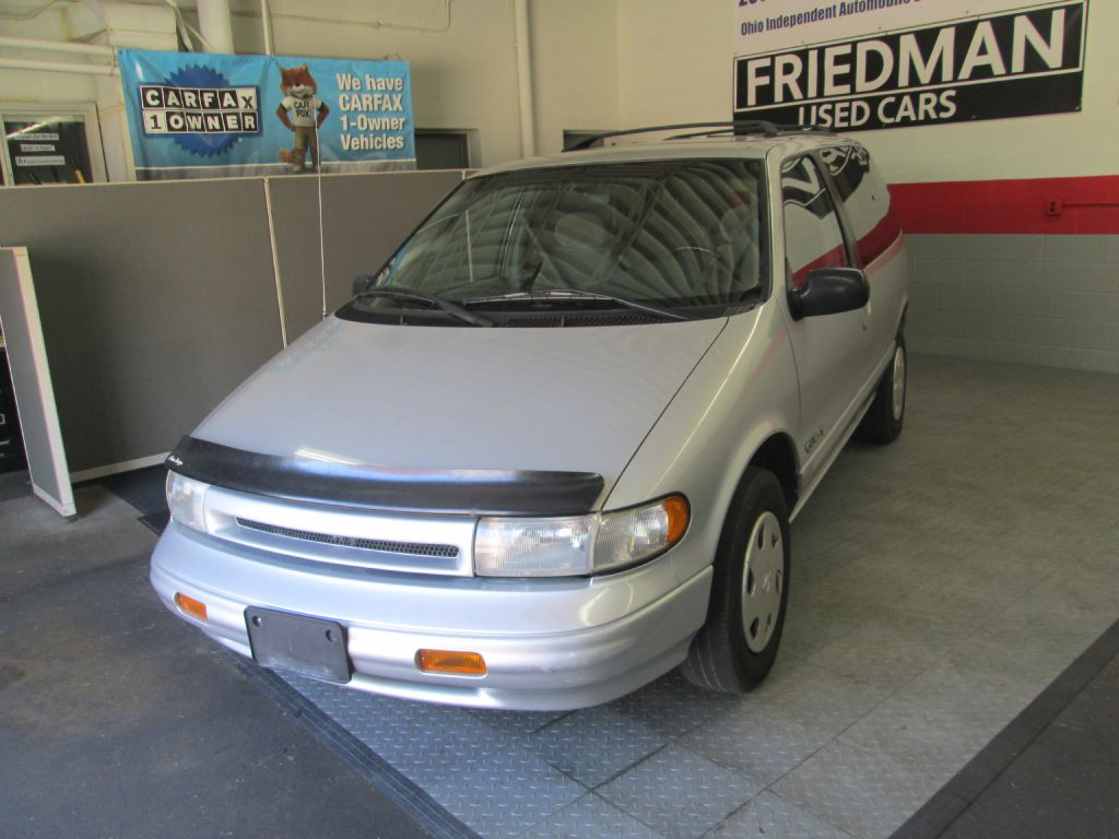 1994 NISSAN QUEST XE for sale at Friedman Used Cars