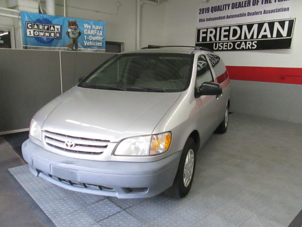 2001 TOYOTA SIENNA LE for sale at Friedman Used Cars